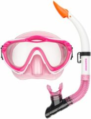 Waimea Duikmasker met Snorkel - Junior - Fuchsia/Roze/Wit
