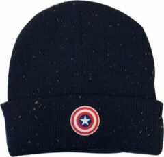 Zwarte Difuzed Captain America - Beanie met Logo