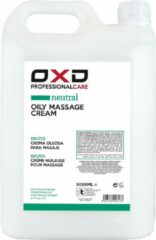 OXD Sports OXD Professional Care Oily massage crème neutral 5 liter