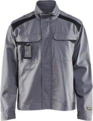 Blåkläder 4054-1800 Industriejack Ongevoerd Grijs/Zwart maat M