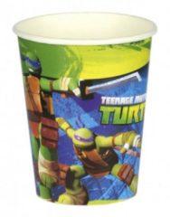 Fun & Feest Party Gadgets Ninja Turtles drinkbekers 8 stuks