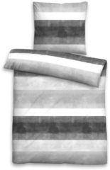 Satin Bettwäsche 'Klara' 2 tlg. Castell Titanium