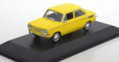 Gele NSU TT 1967 - 1:43 - MaXichamps