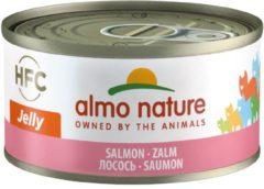 Almo Nature Hfc Cat Natural Blik 70 g - Kattenvoer - Zalm Hfc - Kattenvoer