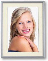 Zep - Aluminium Fotolijst Ombretta Zilver Voor Foto Formaat 13x18 - Al1s2