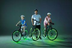 Basic Wheely Bright 2 LED Fietsverlichting Strippen Groen
