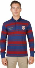 Marineblauwe Oxford University - Pool - Heren - QUEENS-RUGBY-ML - darkred,navy
