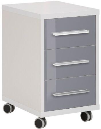 Afbeelding van Bermeo Ladeblok Banco 68 cm hoog - Plantina grijs met grijs