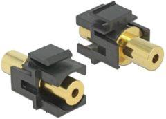 Delock Keystone Modul Klinkenbuchse 3,5 mm 4 Pin > Klinkenbuchse 3,5 m
