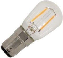 Lighto LED filament Buislamp Ba15d 1W (vervangt 8W)