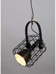 Wants and Needs Wants&Needs Hanglamp Cage zwart 19 x 18,5 x 29,5