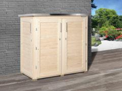Weka houten opbergsysteem Teras