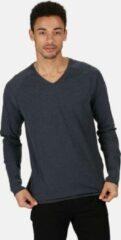 Marineblauwe Regatta Sweatshirt Kiro Coolweave Katoen/polyester Navy Maat S