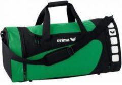 Erima sporttas Club 5 Line donker groen/zwart 49,5 liter