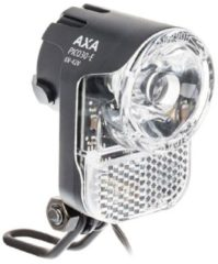 AXA LED Lamp Voorlicht 6-42V E-BIKE PICO30-E 30 Lux On/Off Zwart