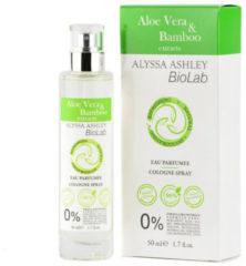 Alyssa Ashley Biolab Aloe Vera And Bamboo Eau de Cologne 50ml Spray