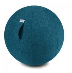 Zitbal Stov - Petrol - 100% polyester - Ø60-65 - Vluv