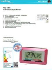 Techno Line TechnoLine WL 1000 Luftgüte-Monitor mit Luftgütealarm - rot