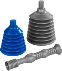 Gootsteenontstopper, 3-delige set Wenko grijs/blauw