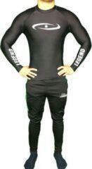 Witte Legend Sports Legend DRYFIT Shirt/MMA Zwart XS