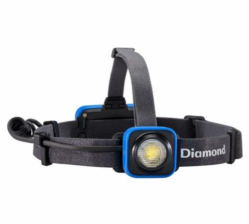 Afbeelding van Blauwe Black Diamond Sprinter Compacte en stabiele hoofdlamp