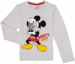 Disney Mickey Mouse - Longsleeve - Grijs - 8 jaar - 128cm