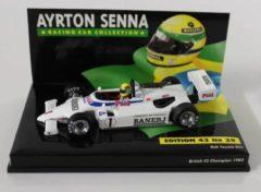 Witte Formule 1 Ralt Toyota RT3 Ayrton Senna British F3 Champion 1983 - 1:43 - Minichamps