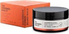 The Groomed Man Co. Mangrove Citrus Beard Balm - Premium Baard Balsem - Beschermt/Verzorgt - tegen Jeukende en Droge huid - Geur Citroengras/Patchouli - 100ML