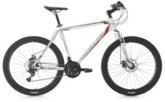 KS Cycling Mountainbike Hardtail 21 Gänge Sharp 26 Zoll MTB Fullsuspension Herren weiß