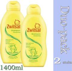 Duo Pack 2x Zwitsal - Shampoo - 700ml (8717163807477)