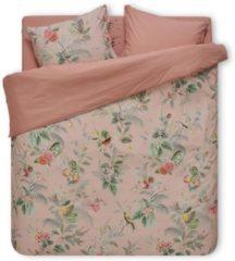 Roze Pip Studio dekbedovertrek Floris pink - lits jumeaux XL (260x200/220 cm incl. 2 slopen)