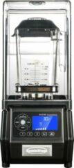 Zwarte Professionele Blender met geluidskap   2 liter   Combisteel   7455.0300   Horeca