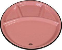 CABANAZ - bord, keramiek, FONDUE PLATE, roze