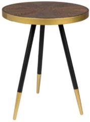 Gouden Livingstone Design Huntly bijzettafel 44 cm