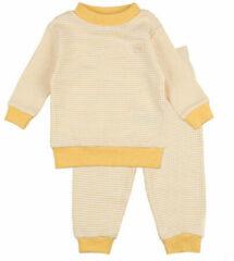 Feetje Wafel Pyjama Okergeel Mt. 62