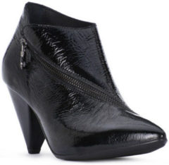 Zwarte Low Boots Juice Shoes NERO NAPLAK