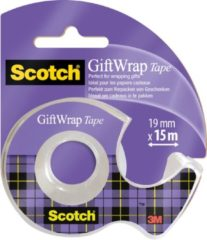 Scotch Gift Wrap tape ft 19 mm x 15 m, op blister