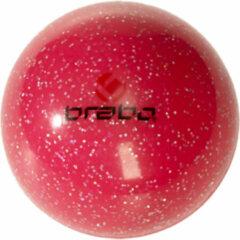 Brabo Smooth Bal Glitter - Hockeybal - Veldhockey - Roze Glitter