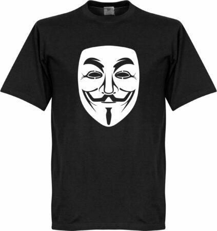Afbeelding van Zwarte Retake Guy Fawkes T-shirt - XXL