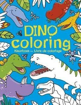 Afbeelding van Dino coloring - Boek Deltas Centrale uitgeverij (9044744054)
