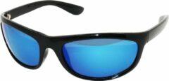 Zwarte Amoy Azores Sportbril 1.1mm Polarized. TR-90 Ultra-Light frame Anti-Reflect coating.