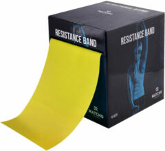 Matchu Sports - Oefenband - Weerstandsband - Geel - 45.5 m