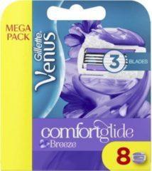 Gillette Venus Breeze Scheermesjes - Comfortglide 8 Stuks