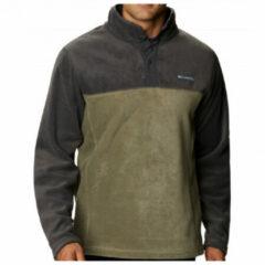 Kaki Columbia steens mountain half snap fleece outdoortrui khaki heren