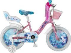 16 Zoll Mädchen Fahrrad Hoopfietsen Ice... rosa