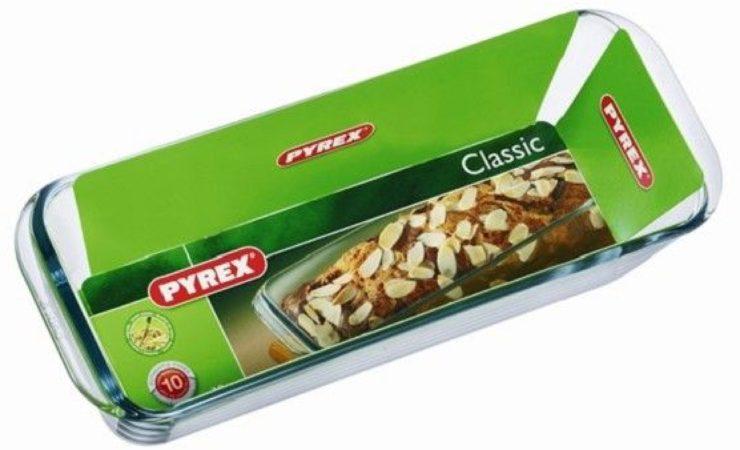 Afbeelding van Pyrex Bake & Enjoy Cakevorm - Borosilicaatglas - 31x12x8 cm - Transparant