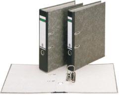 Bruna Ordner Leitz 1082 Folio 80mm karton gewolkt zwart