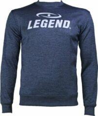 Legend Sports Trui/sweater dames/heren SlimFit Design Legend Navy Blauw 10-11 jaar