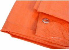 Merkloos / Sans marque Oranje afdekzeil / dekzeil - 6 x 8 meter - dekkleed / zeil