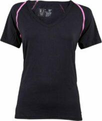 RJ Bodywear Dames T-Shirt Thermo Cool zwart mt XL